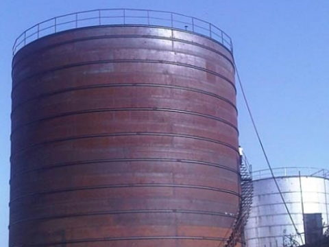 Storage Silos Tanks Heavy Fabrication